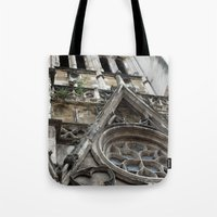 france Tote Bags featuring France by Medea
