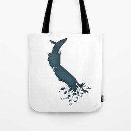 California is...The Ocean Tote Bag