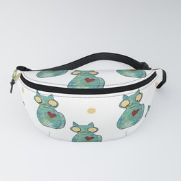 Zombie Cat Fanny Pack