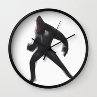 venom Wall Clocks featuring Venom by Josh Belden