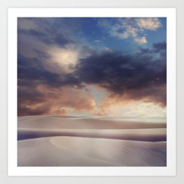 Tranquility of Dune Art Print