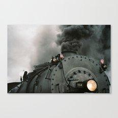 Engine 734 Canvas Print