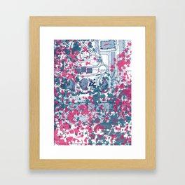 Abstract pattern 25 Framed Art Print