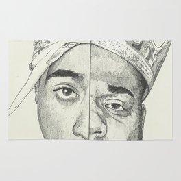 Tupac/Biggie Rug