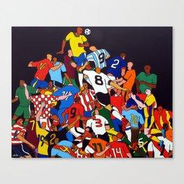 BRASIL X ALL Canvas Print