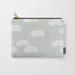Sweet abstract clouds pastel Scandinavian style pattern Carry-All Pouch