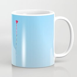 Red Kite In Blue Sky Coffee Mug