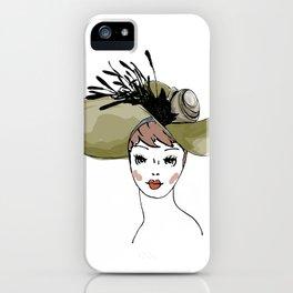 Kentucky Derby Hat iPhone Case