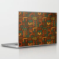 african Laptop & iPad Skins featuring African by Arcturus
