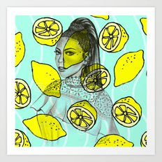 Beyoncee Lemonade Art Print