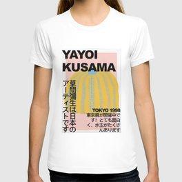 yayoi, kusa-ma, exhib-ition, poster, print-able, wall, art, print, kusama, exhibition, print, digital, download, illustration, modern, art, print T-shirt