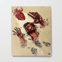Where the heart is Metal Print
