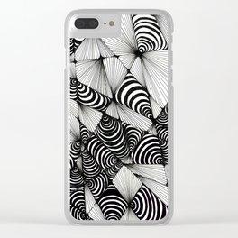 Optical Design Clear iPhone Case