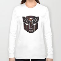 transformers Long Sleeve T-shirts featuring Autobots Abstractness - Transformers by DesignLawrence