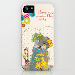 My Doggy iPhone Case