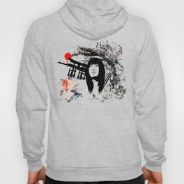 Japanese Geisha Warrior Hoody