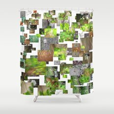 The Mind Seeks Someone Eternal  Shower Curtain