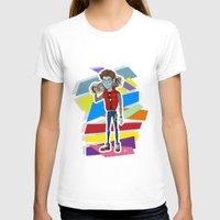 80s T-shirts featuring 80s Vampire by JudithzzYuko