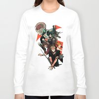 the mortal instruments Long Sleeve T-shirts featuring The Mortal Instruments by The Radioactive Peach