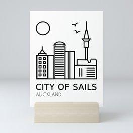 Auckland City of Sails New Zealand Mini Art Print