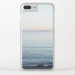 Ocean at Dawn Clear iPhone Case
