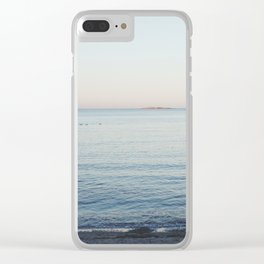 Ocean at Dawn Clear iPhone Case