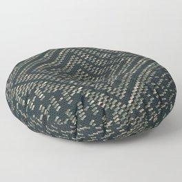Black Assuit Floor Pillow