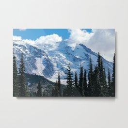Mount Adams Glacier Metal Print