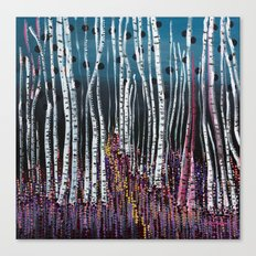 :: Pink Moss :: Canvas Print