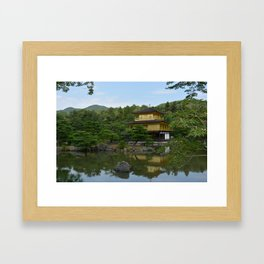 Gold Pavillion Framed Art Print