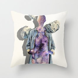 All Spaced Out Throw Pillow