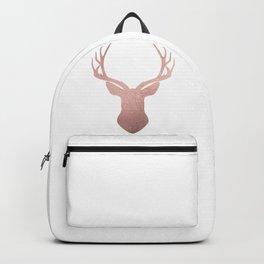 Reindeer - rose gold Backpack