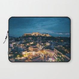 Athens Greece at Dusk Laptop Sleeve