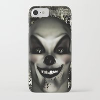 pennywise iPhone & iPod Cases featuring A Penny for your Thoughts by Texnotropio