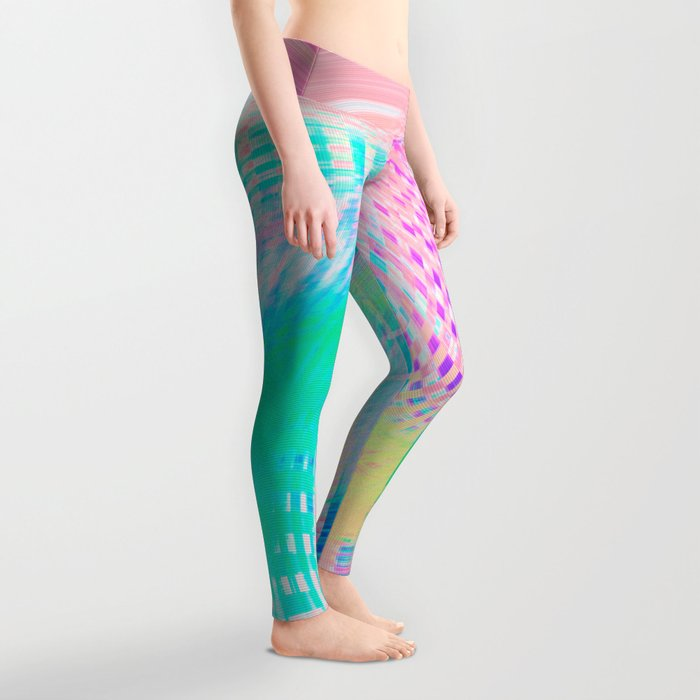 Distorted signal 03 Leggings