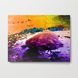 The adventure of the flounder Metal Print