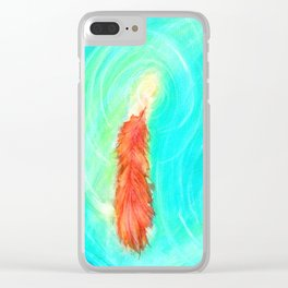 Fire and the Flood Clear iPhone Case