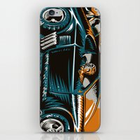 mad max iPhone & iPod Skins featuring Mad Max by Francesco Dibattista