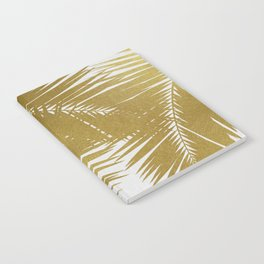 Palm Leaf Gold III Notebook