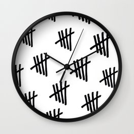 One for each of us and one that connects us together Wall Clock