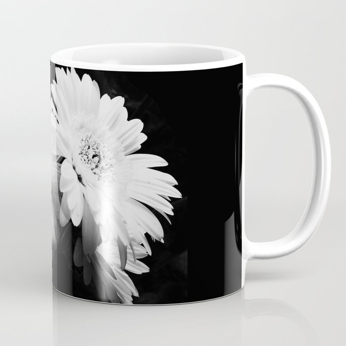 Flowers in black and white nature vintage photography coffee mug flowers in black and white nature vintage photography coffee mug mightylinksfo