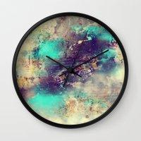 flash Wall Clocks featuring Flash  by Rafael&Arty