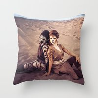 wild things Throw Pillows featuring Wild Things by diane555