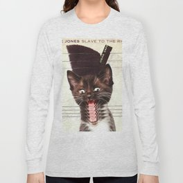 Slave To Kitty Long Sleeve T-shirt
