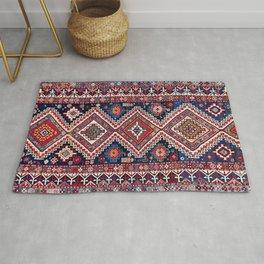 Kuba Antique East Caucasus Carpet Print Rug