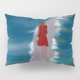 Escaping To The Beach Pillow Sham