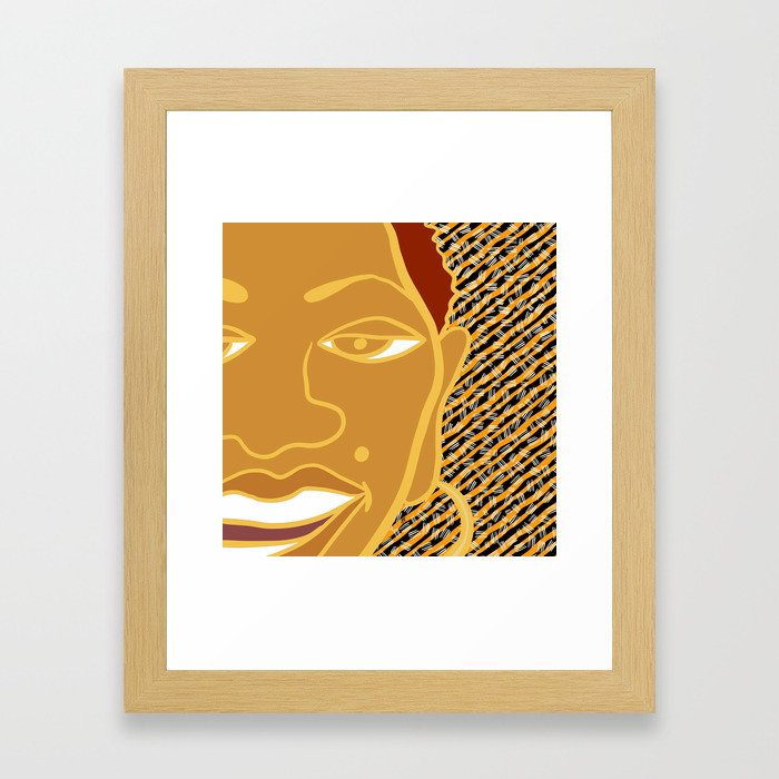 Africa Calls To Me Too Framed Art Print