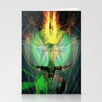 dragon age inquisition Stationery Cards featuring Inquisition by Lazare Gvimradze
