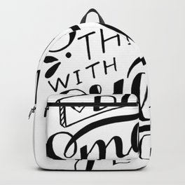 Do Small Things With Great Love Backpack