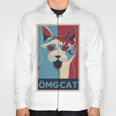 ✩ The OMG Cat Poster Hoody